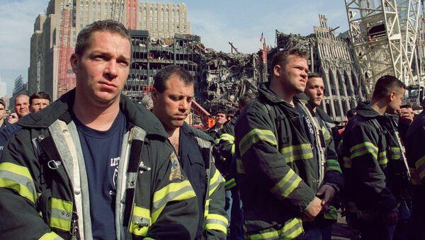 Vatrogasci na Nultoj tački u Njujorku - Sputnik Srbija
