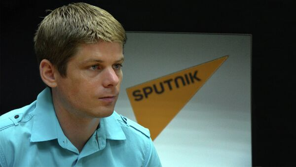 Француски хуманитарц Арно Гујон - Sputnik Србија