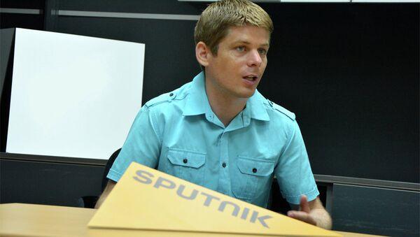 Francuski humanitarc Arno Gujon - Sputnik Srbija