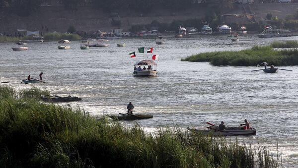 Reka Nil u toku kroz Egipat - Sputnik Srbija