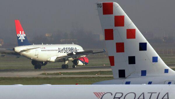 Avion Er Srbije i Kroacija erlajns - Sputnik Srbija