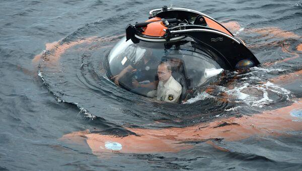 Putin se spušta na dno Crnog mora - Sputnik Srbija