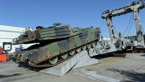 Američki tenk M1 Abrams - Sputnik Srbija