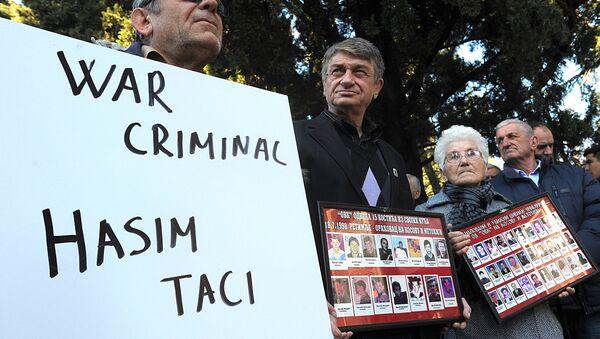 Tači i Čeku osumnjičeni za zločine? - Sputnik Srbija