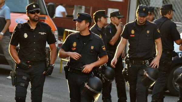 Španska policija u Madridu - Sputnik Srbija