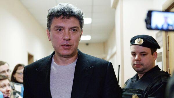 Борис Немцов - Sputnik Србија