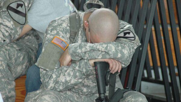 Američki vojnik u depresiji - Sputnik Srbija
