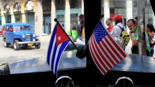 Америчка и Кубанска застава  - Sputnik Србија