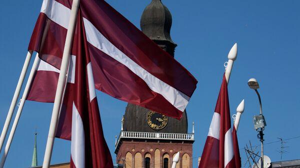 Zastava Letonije - Sputnik Srbija