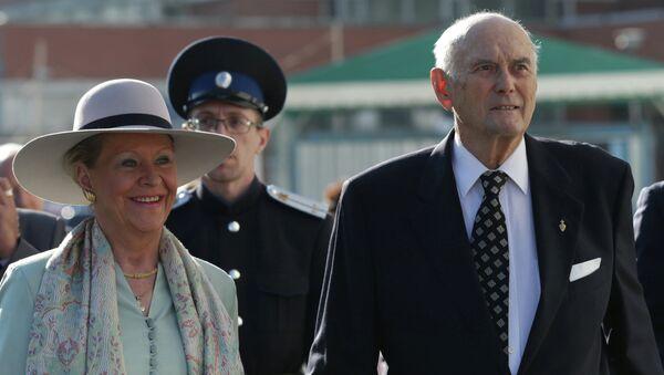 Knez Dimitrij Romanov sa suprugom Teodorom - Sputnik Srbija