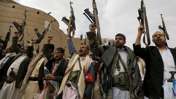 Pobunjenici u Jemenu - Sputnik Srbija