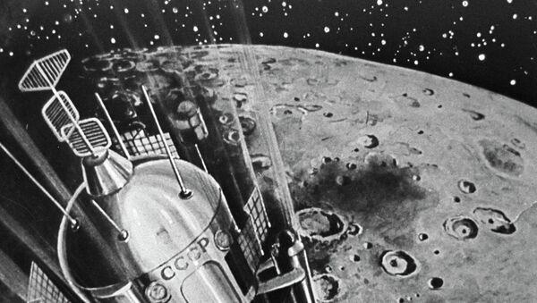 "Репродукција слике ""Меко слетање на Месец"" - Sputnik Србија"