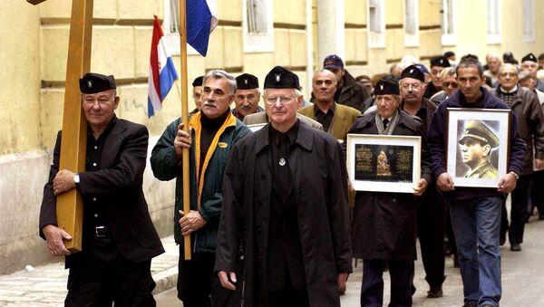 Усташке униформе у Задру - Sputnik Србија