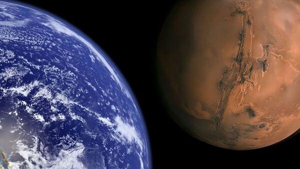 Zemlja i Mars - Sputnik Srbija