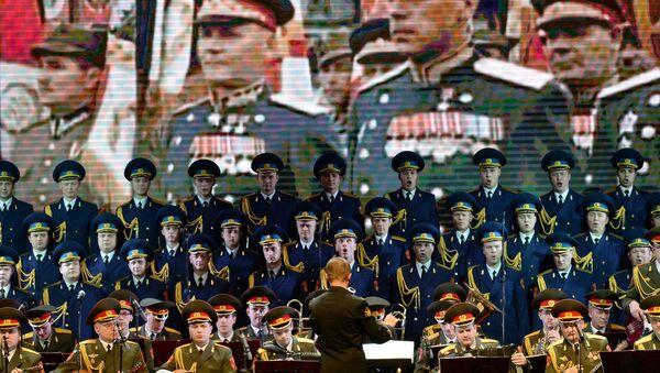Чланови ансамбла певају на готово свим језицима света, укључујући кинески, индијски, турски - Sputnik Србија
