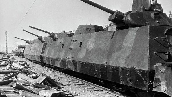 Oklopni sovjetski voz, bitka za Varšavu 1944. Poljska, Drugi svetski rat - Sputnik Srbija