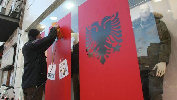 Zastava Albanije - Sputnik Srbija