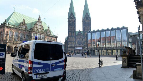 Policija ispred Gradske skupštine u Bremenu - Sputnik Srbija