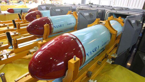 Иранска крстерећа ракета Наср - Sputnik Србија