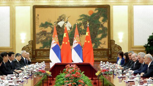 Predsednik Srbije Tomislav Nikolić u poseti Kini - Sputnik Srbija