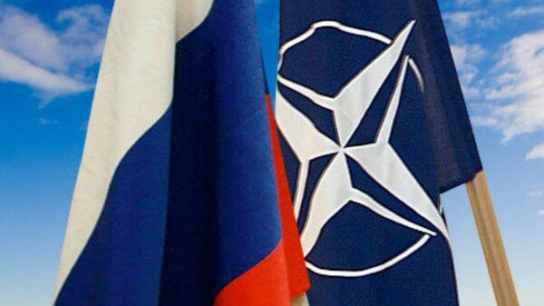 Zastave Rusije i NATO - Sputnik Srbija
