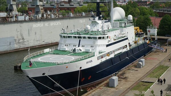Brod Jantar. Vono-pomorska flota Rusije - Sputnik Srbija