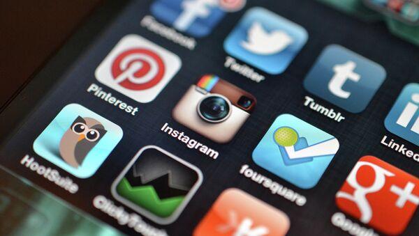 Društvene mreže ilustracija - Sputnik Srbija