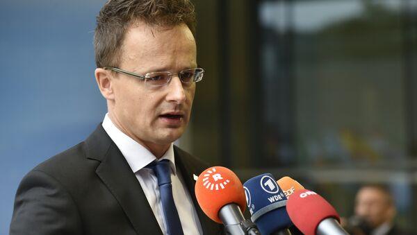 Мађарски министар спољних послова Петер Сијатро - Sputnik Србија