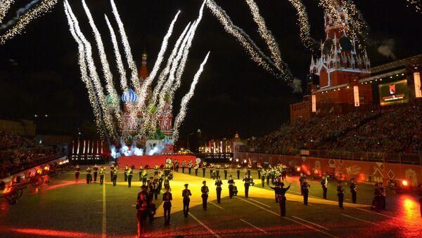 """Vojna muzika sa svih strana sveta: Festival """"Spaska kula 2015"""" u Moskvi - Sputnik Srbija"""