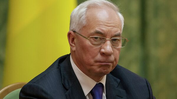 Bivši ukrajinski premijer Nikolaj Azarov - Sputnik Srbija