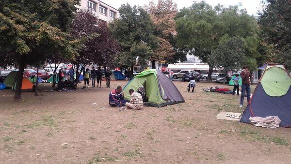 Izbeglice u Srbiji - Sputnik Srbija