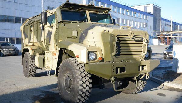 Novo oklopno vozilo Tajfun-M - Sputnik Srbija