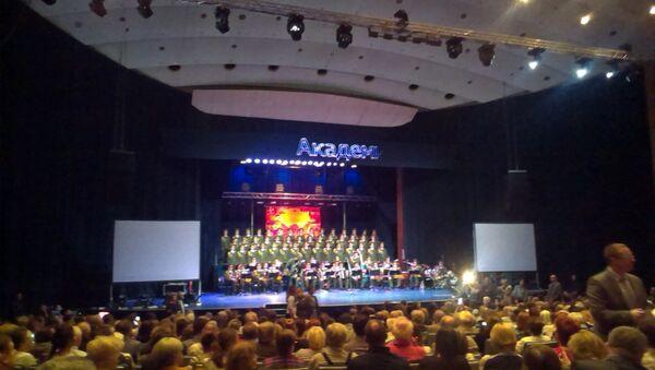 Koncert ansambla Aleksandrov u Dvorani Doma sindikata u Beogradu - Sputnik Srbija