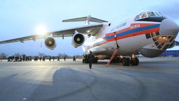 Avion Ministarstva za vanredne situacije Rusije - Sputnik Srbija