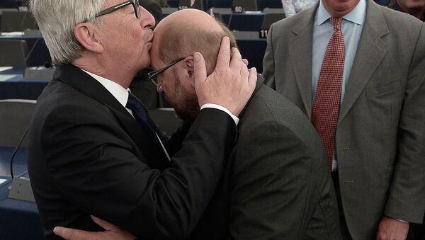 Žan-Klod Junker i Martin Šulc - Sputnik Srbija