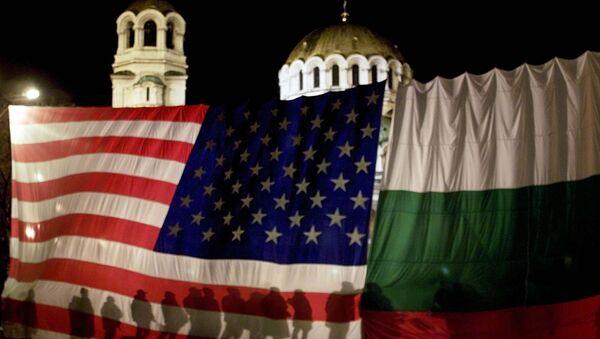 Застава САД и Бугарске - Sputnik Србија