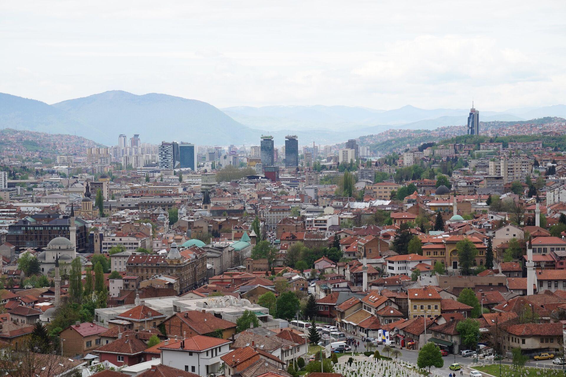 Сарајево панорама - Sputnik Србија, 1920, 28.09.2021