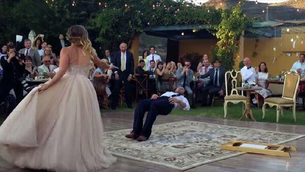 Левитирање, свадебни плес - Sputnik Србија