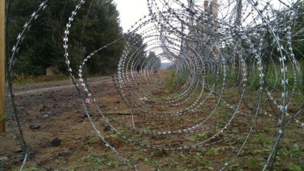 Жичана ограда на граници са Мађарском - Sputnik Србија