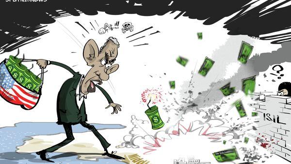 Vojna strategija koalicije: bacanje... novca - Sputnik Srbija