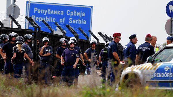 Granica Srbije i Mađarske - Sputnik Srbija