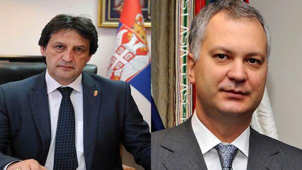 Bratislav Gašić i Dragan Šutanovac - Sputnik Srbija