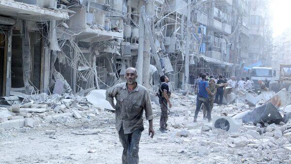 Razaranja u Siriji - Sputnik Srbija