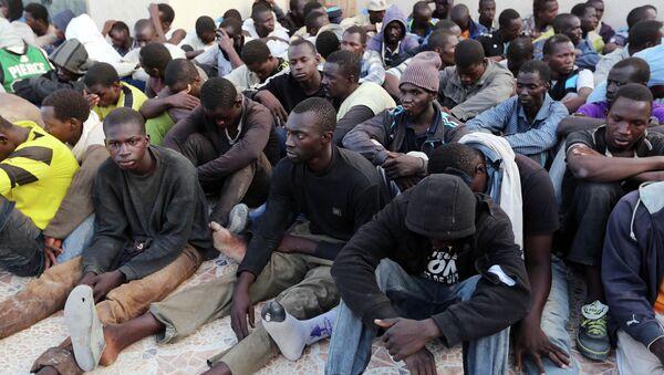Izbeglice u Tripoliju - Sputnik Srbija