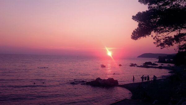 Zalazak sunca na moru - Sputnik Srbija