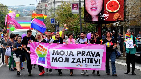 Парада поноса у Београду - Sputnik Србија