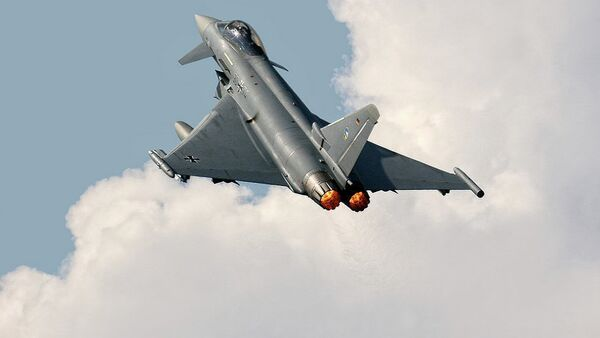 Nemački lovac Eurofighters - Sputnik Srbija