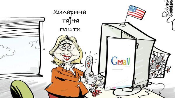 Njeni pomoćnici nisu tada preduzeli nikakave mere kako bi zaštitili njenu ličnu elektronsku poštu na serverima Stejt departmenta. - Sputnik Srbija