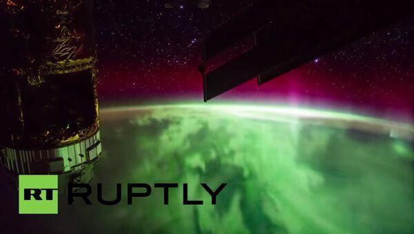 Severna svetlost snimljena iz svemira - Sputnik Srbija