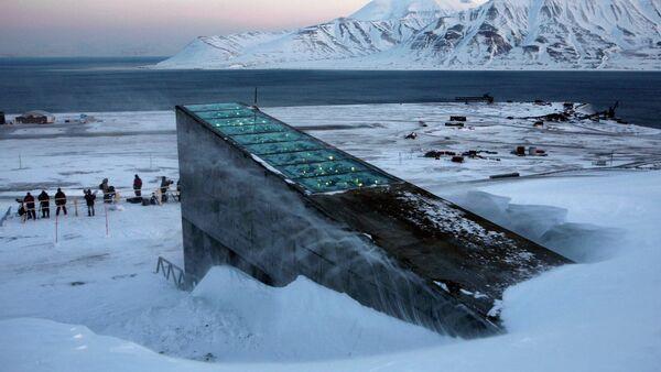 Trezor za čuvanje žitarica u Svalbardu - Sputnik Srbija